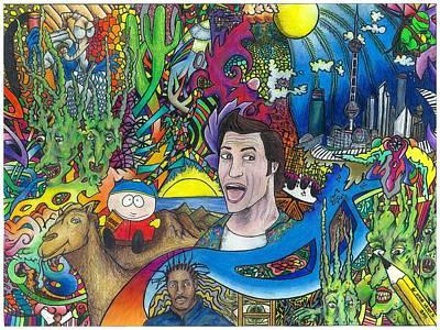 Improvised Imagination Poster by Steve Weber