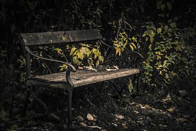 In A Forgotten Corner Poster by Odd Jeppesen