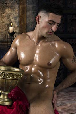 Dionysus In The Olympus  Poster by Mark Ashkenazi