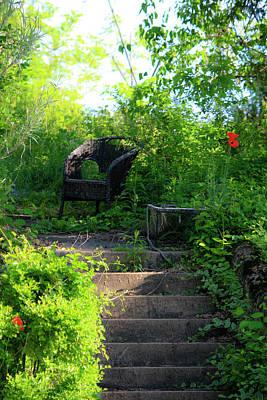 In The Garden Poster by Teresa Mucha