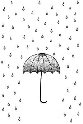 In The Rain Poster by Konstantin Sevostyanov