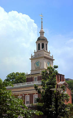 Independence Hall - Philadelphia Poster by Frank Mari