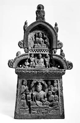 India: Buddhist Statue Poster by Granger