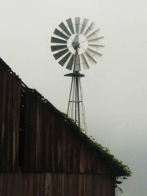 Indiana Windmill Poster by Joyce Kimble Smith