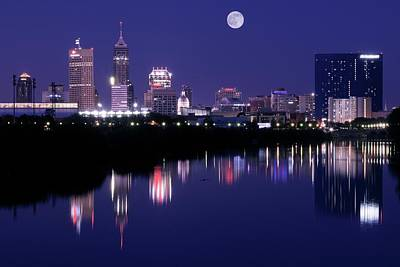 Indianapolis Poster by Frozen in Time Fine Art Photography