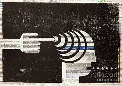 Influential Mind Control Poster by Igor Kislev