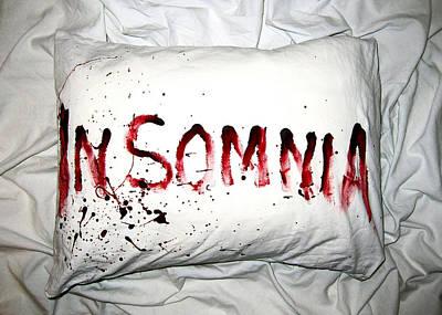 Insomnia Poster by Nicklas Gustafsson