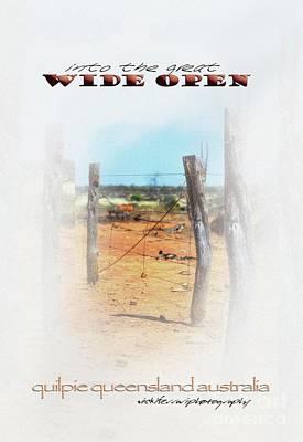 Into The Great Wide Open Australia 2 Poster by Vicki Ferrari