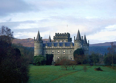 Inveraray Castle Poster by Kenneth Campbell