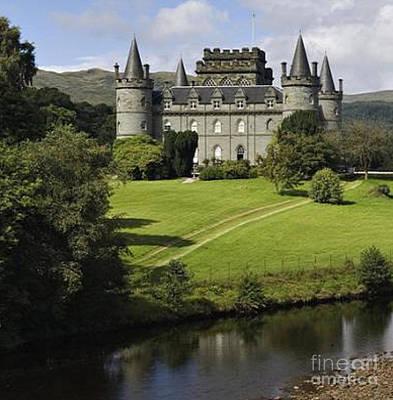 Inveraray Castle Poster by Rod Jellison
