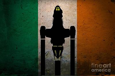 Irish Brown Coats Poster by Justin Moore
