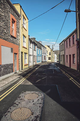 Irish Street In Cahersiveen Poster by Scott Pellegrin