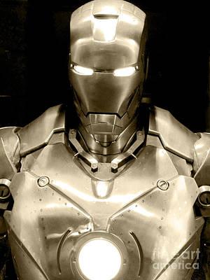 Iron Man 12 Poster by Micah May