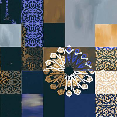 Islamic Motif V 444 3 Poster by Mawra Tahreem