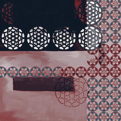 Islamic Motif Vii 446 3 Poster by Mawra Tahreem