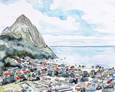 Island View Poster by Shaina Stinard