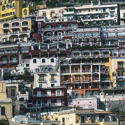 Italian Houses Poster by Joana Kruse