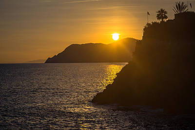 Italian Sunset Poster by Chris Fletcher
