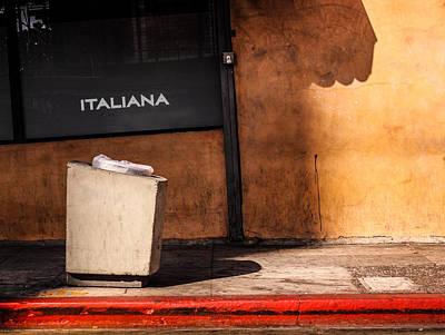 Italiana Poster by Hsin Liu
