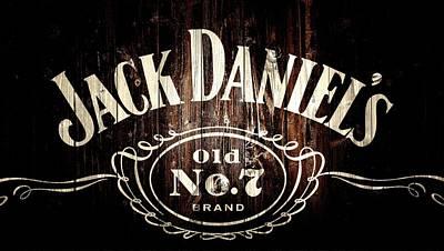Jack Daniel's Barn Door Poster by Dan Sproul