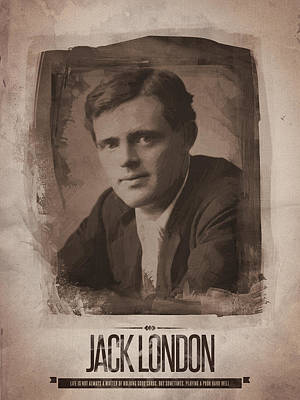 Jack London Poster by Afterdarkness