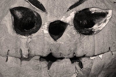 Jack O' Lantern Poster by Carol Mallillin-Tsiatsios