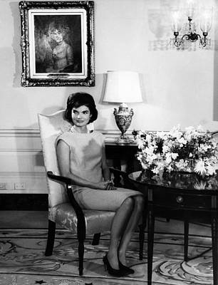 Jacqueline Kennedy, Circa. 1960s Poster by Everett