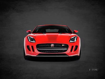 Jaguar F Type Poster by Mark Rogan