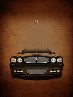 Jaguar Xj Poster by Mark Rogan