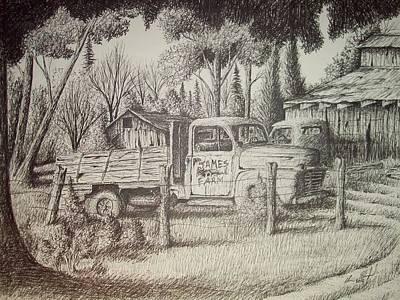 James Farm Poster by Chris Shepherd