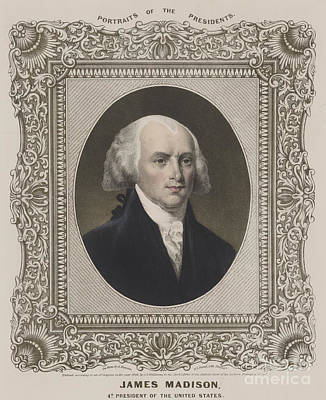 James Madison, 4th U.s. President Poster by Science Source