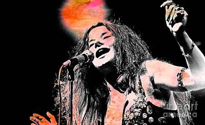 Janis Joplin Poster by John Malone