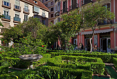 Jarden Cafetaria Bside The Garden Poster by Panoramic Images