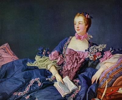 Jeanne Antoinette Poisson, Marquise De Poster by Vintage Design Pics