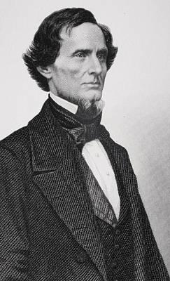 Jefferson Davis Poster by Matthew Brady