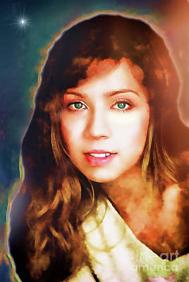 Jennette Mccurdy - Goddess Poster by Robert Radmore