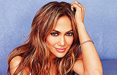 Jennifer Lopez Poster by Queso Espinosa