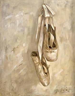 Jennifer's Shoes Poster by Janina Pazdan