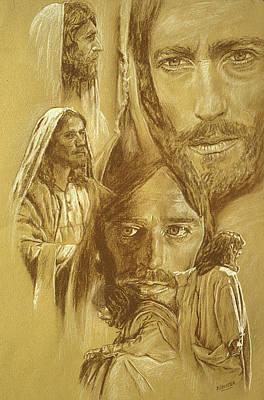 Jesus Poster by Bryan Dechter