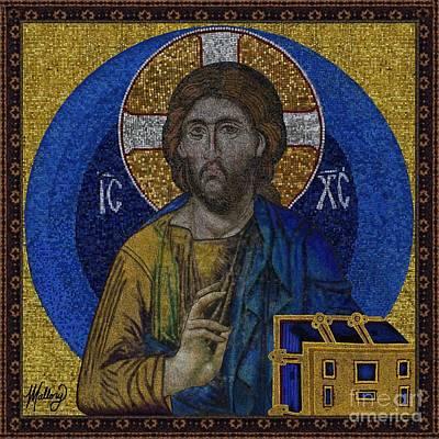 Jesus Christ Deesis  Poster by Mallory Blake