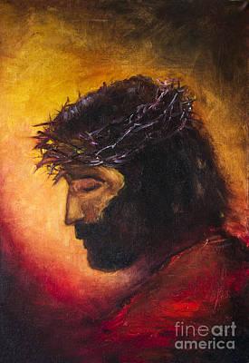 Jesus Christ Poster by Nick Bakhur