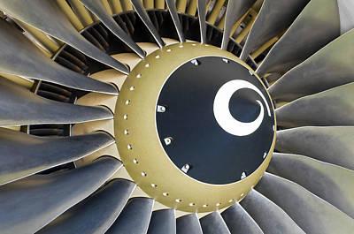 Jet Engine Detail. Poster by Fernando Barozza