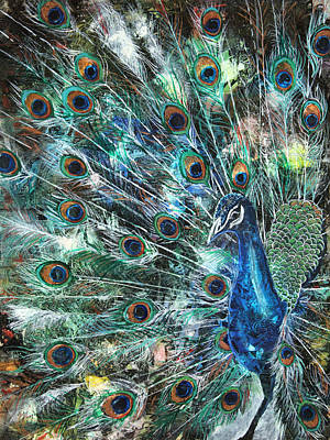 Jeweled Poster by Patricia Allingham Carlson