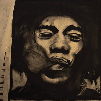 Jimi Hendrix Poster by Miranda Strapason