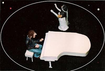 John And Yoko Soul Searching Poster by Richard  Hubal