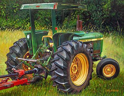 John Deere 2640 Poster by Paul Baldassini