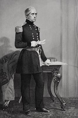 John Ellis Wool 1784-1869. Union Poster by Vintage Design Pics
