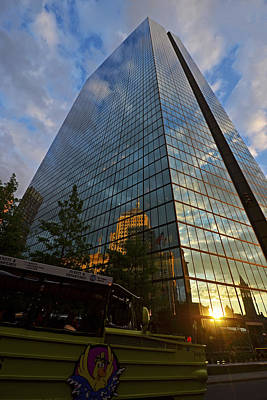 John Hancock Tower Boston Ma Reflection Poster by Toby McGuire