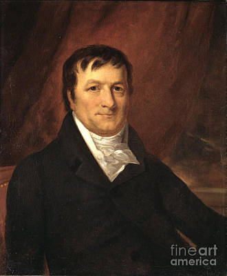 John Jacob Astor, American Businessman Poster by Science Source