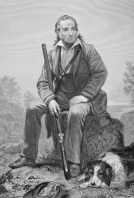 John James Audubon 1785-1851. American Poster by Vintage Design Pics